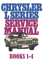 CHRYSLER VALIANT CL Series WORKSHOP MANUAL: 1976-1978
