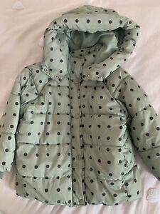 zara girls coat 4-5