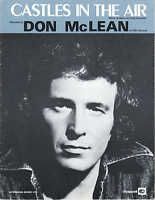 Castles In The Air - Don McLean - 1969 Sheet Music