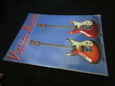 Vintage Mosrite Japan Book Guitar Ventures Nokie Edwards Don Wilson Joe Maphis