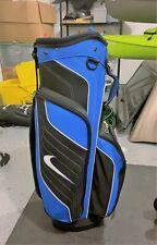 New ListingNike Golf Cart Bag Blue Black 14 Way Divider w/ arm strap