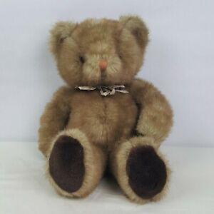"""Russ Carnaby 15.5"""" Teddy Bear Vintage Berrie & Co K-25 Stuffed Plush"""
