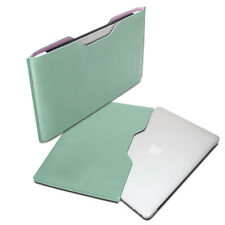 Turquoise & Pink PU Leather Sleeve Bag Case Cover For Macbook Air 11 inch
