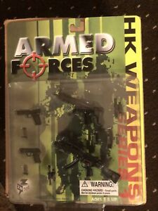 INTOYZ ARMED FORCES HK WEAPONS SERIES ONE 1/6TH SCALE ELITE FORCE DRAGON