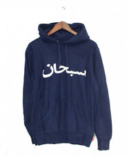 Supreme 12SS Arabic Pullover Navy Size: S