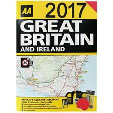 AA 2017 Road Atlas Map Great Britain & Ireland UK Brand New Latest Edition