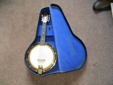 Fine  Banjo mandolin in good playable condition made by Bell-tone with hard case