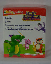 Baby Genius Early Learning Sing & Learn Collection with 3 Extra DVD's, CD's New
