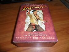 Indiana Jones - The Adventure Collection (DVD, 2003, 4-Disc Widescreen) Used