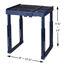 Locker Shelf Adjustable Stackable and Heavy Duty l for School Work & Gym Lockers