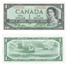 1954-Bank of Canada One Dollar-Pick ref: 66b-EF.