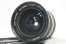 Nikon Zoom-Nikkor 28-45mm F/4.5 - Ai MF Non Wide Angle Lens SN176719 dal Giappone