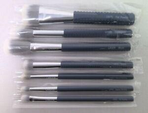 (Set of 7) LARUCE BEAUTY Brush Set in Denim Blue    NEW   FREE SHIPPING