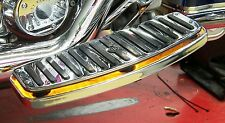 "LED Accent/Running Light Kit for ""Floating Style"" Motorcycle Floor Boards; Amber"