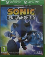 Sonic Unleashed For XBox 360 and XBox One (New & Sealed)