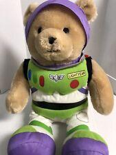 Disney Buzz Lightyear Bear Plush Toy Stuffed Animal