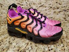 Nike Women's Size 5 Air Vapormax Plus Shebert AO4550-004 Pink Orange Black NEW