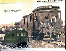 2008 Volume 2 K Line By Lionel Train Catalog EX 080116jhe