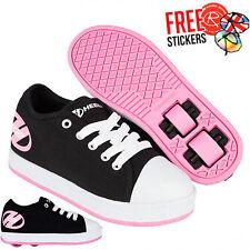 Heelys Juniors X2 Fresh 317 Trainers (black) Black Pink 11