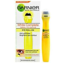 Garnier White Complete Eye Roll On 15ml Anti Puffiness Brightens Skin Naturals