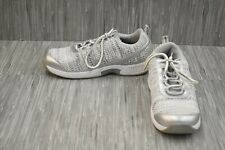 Orthofeet Sandy 982 Athletic Shoe - Women's Size 10.5 2E, Silver