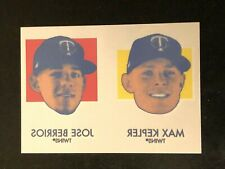 2020 Topps Heritage Jose Berrios Max Kepler 1971 Baseball Tattoo SP Twins #30