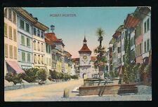 Switzerland MORAT-MURTEN c1910/20s PPC pub W Bous