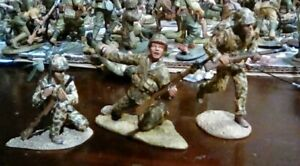 FIGARTI WW2 Marines at Tarawa.  54mm metal