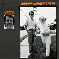 LOUDON WAINWRIGHT : ATTEMPTED MUSTACHE (CD) sealed