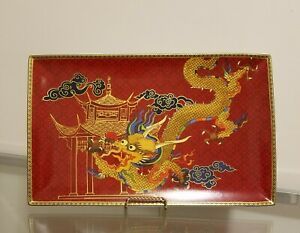Williams Sonoma Lunar New Year Serving Platter Red Dragon Large NEW