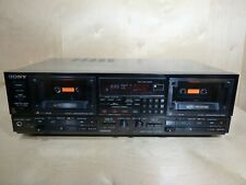 Sony Tc-Wr950 Auto Reverse Dual Cassette Tape Deck Lc-Ofc Near Mint, Works Great