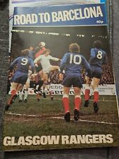 More details for road to baecelona rangers programme