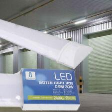 Slimline 30W LED T8 Tube Light Batten Ceiling Wall Mounted Slim High Lumen 900mm