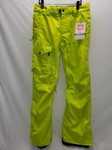 686 Rover Mens Snowboard Snow Ski Pants Lime Small NEW