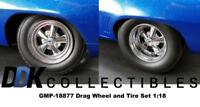 GMP 18877 1320 Drag Kings Camaro Wheel & Tire Pack 1:18