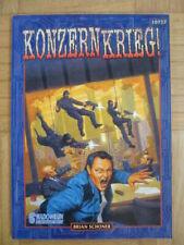SHADOWRUN – KONZERNKRIEG - 10737 – Deutsch - SR Rollenspiel Roleplaying