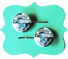 Harry Potter Slytherin School House Crest Bobby Pins - Hair Pins Costume Logo