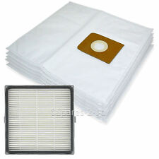 5 Cloth Bags + H13 HEPA Filter for Nilfisk King GM516 GM540 GM580 Vacuum