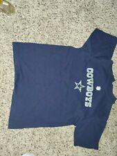 Dallas Cowboys Shirt boys 10/12 Blue Americas Team NFL NFC Authentic Apparel