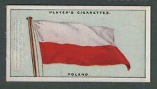 The Flag Of Poland Polish 1920s Ad Trade Card