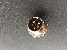 5 Pin chassis gold plated connector pin suitable for Minelab GPX coil plug