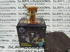 MINECRAFT Mini-Figure OBSIDIAN Seri 4 STEVE? w/ARROW DAMAGE Exclusive to 1-Packs