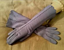Vintage 1940's Aubersean color Dress Gloves by Kayser