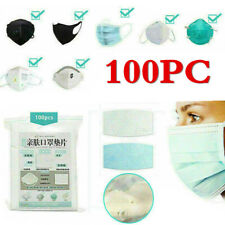 100pcs Protect Health Mouth-Muffle Filter Face Gasket Pad Medical high quality