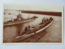 CARTE POSTALE ANCIENNE CPA MARINE NATIONALE SOUS-MARIN BRUMAIRE