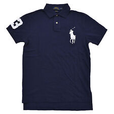 Polo Ralph Lauren Big Pony Mens Custom Fit Mesh Polo Shirt S M L Xl Xxl New Nwt