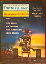 MAGAZINE OF FANTASY AND SCIENCE FICTION 1960 MAY