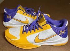 Kobe Bryant Nike Zoom V 5 Shoes Christmas Day 2009 Court-side Promo VERY RARE 14
