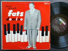 FATS DOMINO Here Stands LP IMPERIAL LP 9038 US 1957 DG MONO Rhythm & Blues