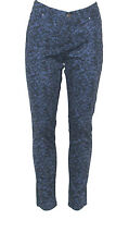 NEW Style & Co. Size 8 Petite Skinny Laced Baroque Print Jeans BLUE